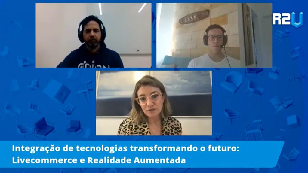 integração de realidade aumentada no live commerce
